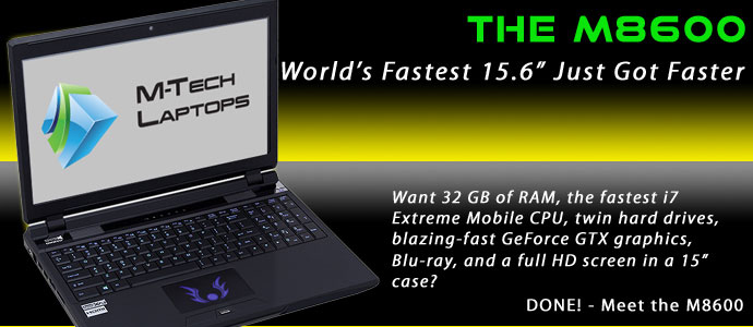 M-Tech Laptops M8600 is the best laptop made